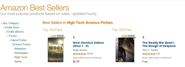 bestselling science fiction