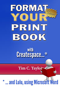 Format your book for createspace 2nd edition